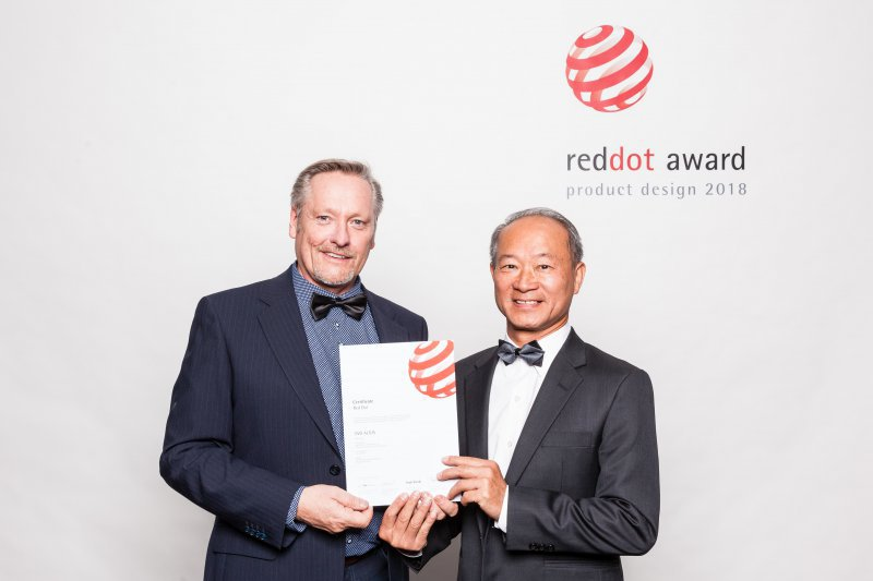L'EVO Altus remporte le Red Dot Design Award